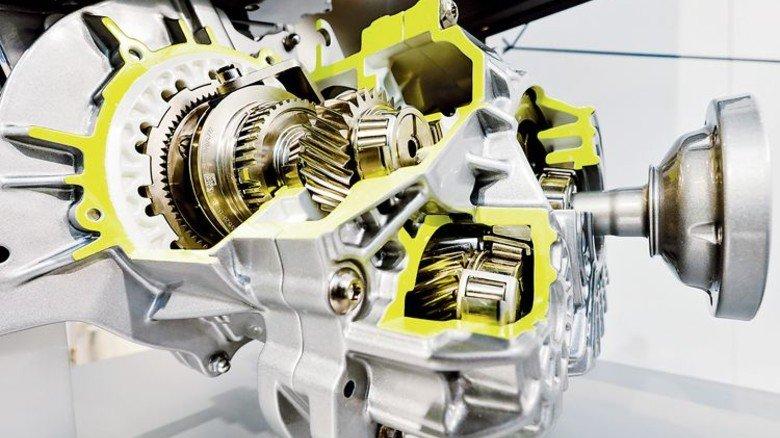 Schaeffler: Der elektrische Achsantrieb ist für Hybrid- und Elektrofahrzeuge. Foto: Werk