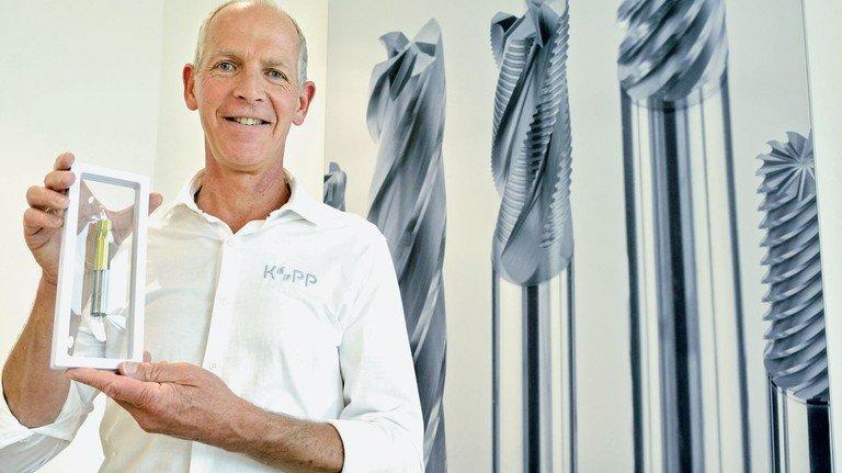 """Unternehmer aus Leidenschaft: Achim Kopp. """"Wir sind es gewohnt"""", sagt er, """"die Nase in den Wind zu halten – und immer neue Ideen zu entwickeln."""""""