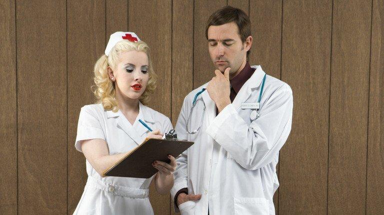 Herr Doktor, ein Fax, ein Fax!