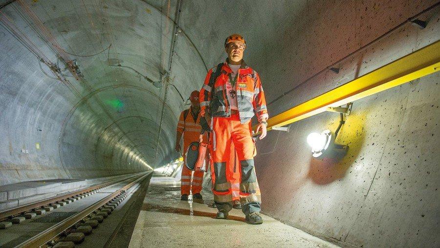 Gotthard Im Längsten Tunnel Der Welt