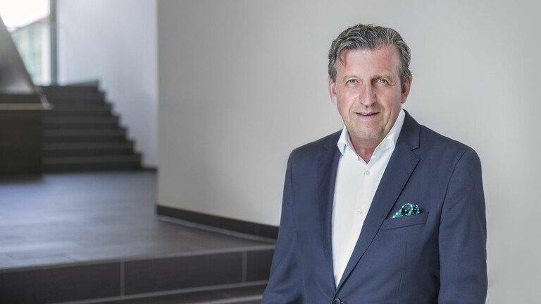 Dr. Stefan Wolf, Vorsitzender von Südwestmetall.