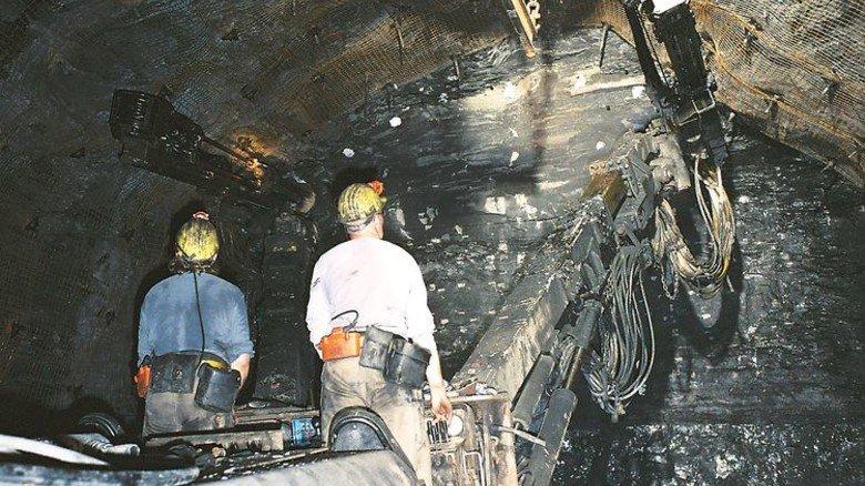 Schwerstarbeit: Pro Mann und Schicht werden in Ibbenbüren fast sieben Tonnen Steinkohle abgebaut. Foto: Werk