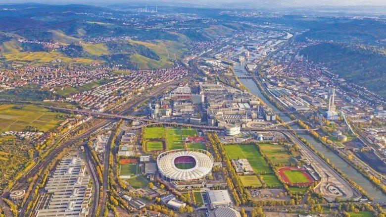 Lebensqualität: Die Industrie ermöglicht viele Freizeiteinrichtungen, wie hier die Mercedes-Benz-Arena in Stuttgart. Foto: dpa