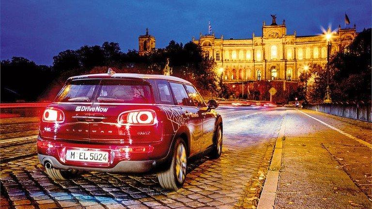 Anbieter DriveNow: Er will sich mit dem Konkurrenten Car2Go zusammenschließen. Foto: DriveNow