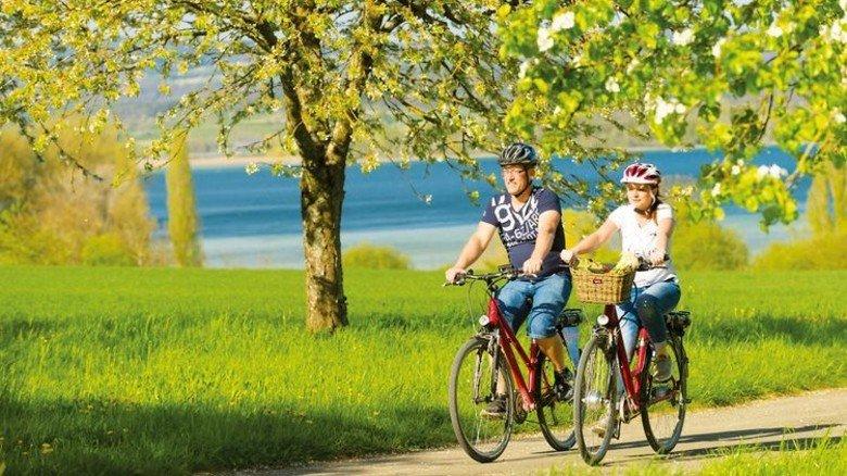 Bodensee-Radweg: Natur pur am Untersee Foto: Regio Konstanz-Bodensee-Hegau, Noll