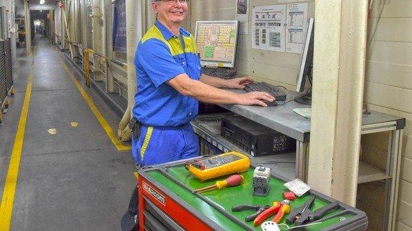 Ohne PC geht nichts mehr: Anlagen programmieren. Foto: Sandro