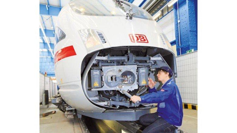 Spherea hat auch den Schienenverkehr im Visier, etwa ICE-Züge. Foto: DB