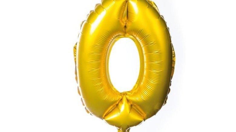 Neuer Geburtstag: Die Null. Foto: Roth