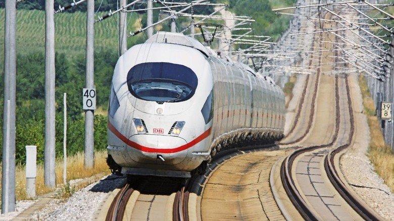 ICE: Die Deutsche Bahn ist ein guter Kunde. Aber auch im Ausland vertraut man auf Deuta. Foto: Deutsche Bahn