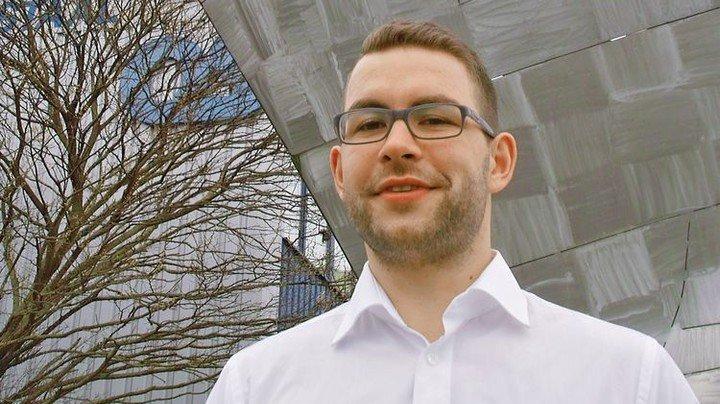 Karriere durch duales Studium: Gregor Pohl leitet seit Anfang 2018 die Arbeitsvorbereitung bei Ostseestaal. Foto: Thomas Schwandt