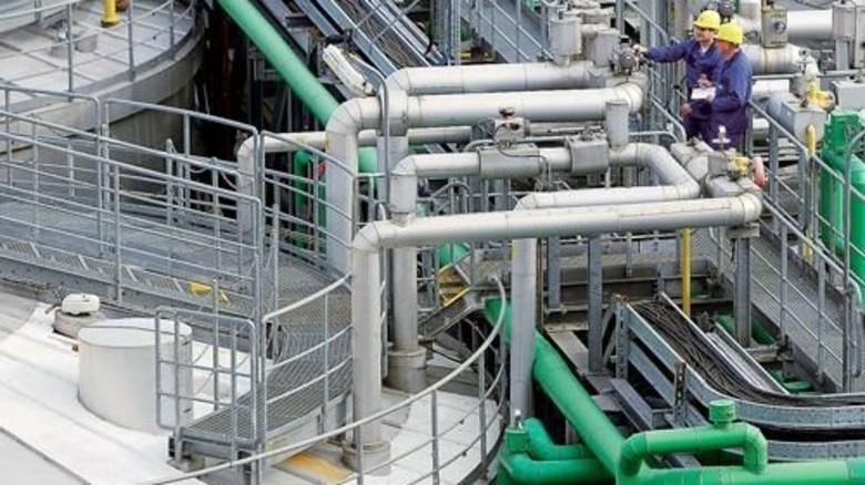 Produktionsanlage: Seit 1983 produziert das BASF-Stammwerk den Stoff PolyTHF. Foto: Werk