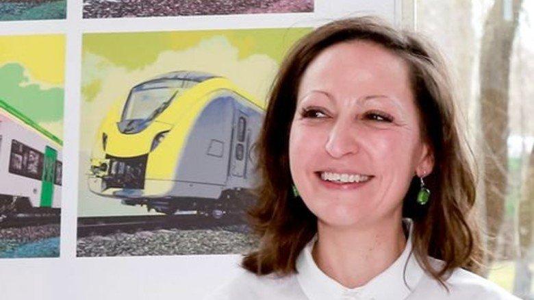 Tanya Altmann, Projektleiterin bei Alstom in Salzgitter. Foto: Werk