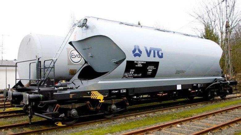 Riesig: Komplette Kesselwagen können in Wittenberg … Foto: Werk