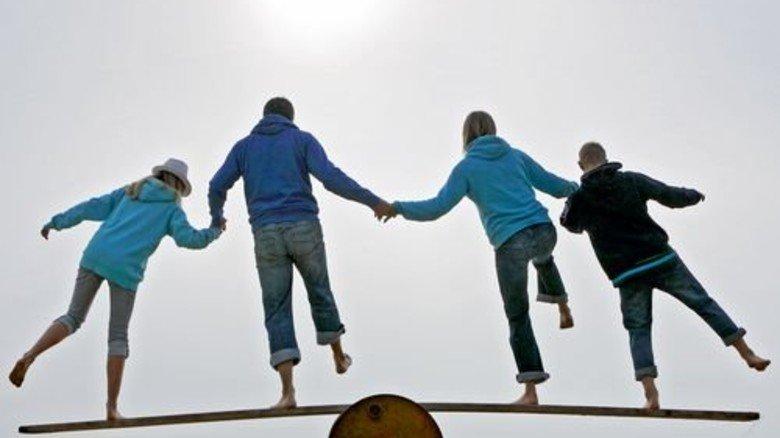 So geht's: Wenn alle Beteiligten mitmachen, wird die Herausforderung gemeistert. Foto: Getty