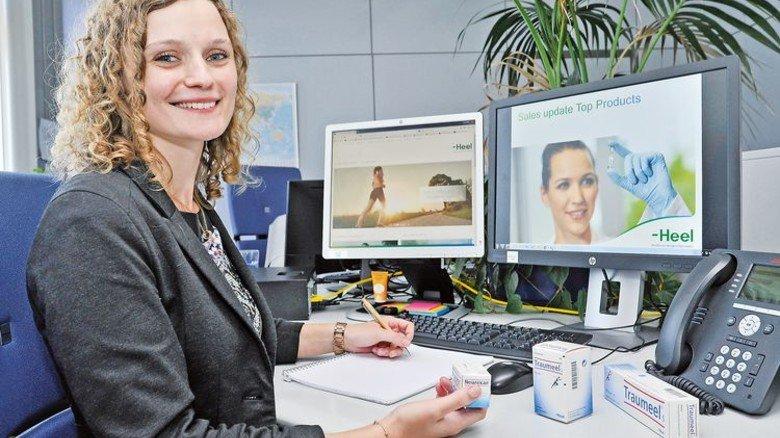 Sozial engagiert: Larissa Lang, Betriebswirtin (BA) bei Heel in Baden-Baden. Foto: Sigwart