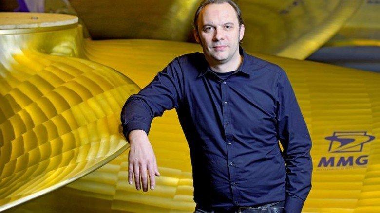 Große Pläne: Mit Robotern will Geschäftsführer Lars Greitsch die Produktion effizienter gestalten. Foto: Augustin