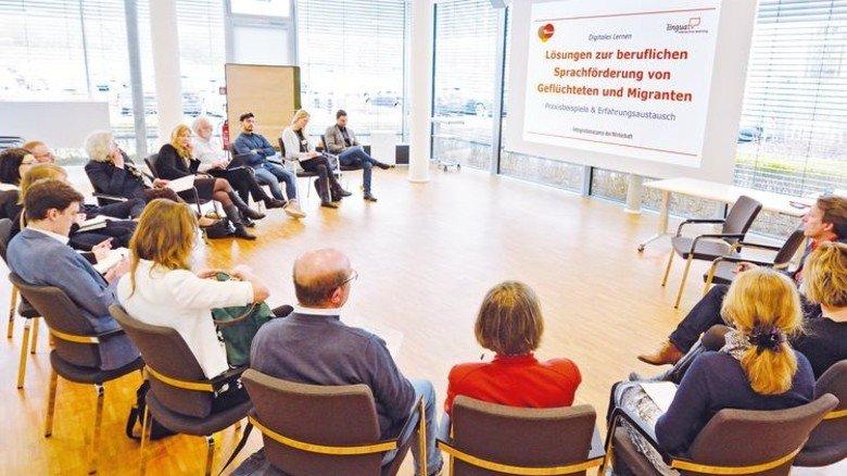 Erfahrungsaustausch: In Workshops diskutierten die Teilnehmer des #ICW18 Ideen und Konzepte. Foto: Scheffler