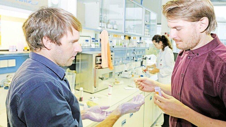 Sauber: Die Heyfair-Gründer Alexander Döpel (links) und Robert Hellmuth.