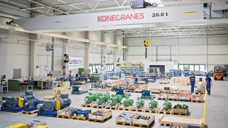 Modern: Bei dem Umzug nach Tornesch vor einigen Jahren entstand ein komplett neues Werk.