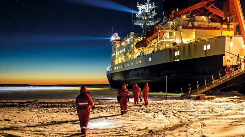 Arktis: Die Forscher drifteten mit dem Eis durch das Nordpolarmeer.