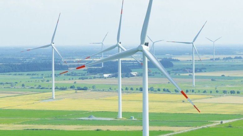 … reduziert das Rauschen von Windturbinen. Foto: Werk