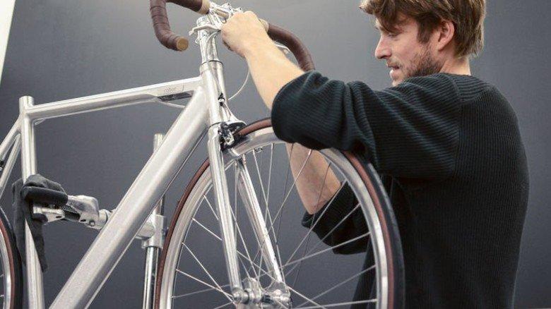 Leichtbau: Dank Alu wiegen puristische E-Bikes nur 14 Kilo. Foto: Werk