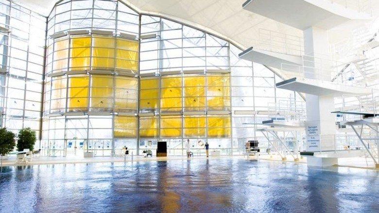 Muss technisch wieder auf den aktuellen Stand: Die Schwimmhalle im Münchner Olympiapark. Foto: Olympiapark München