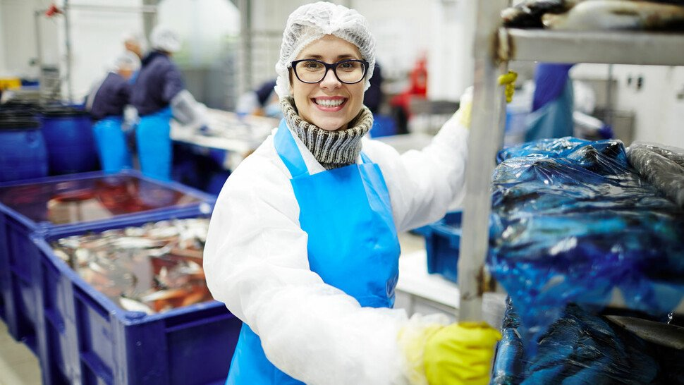 Hygienisch: Kunststoff ist aus der Lebensmittelproduktion nicht mehr wegzudenken.