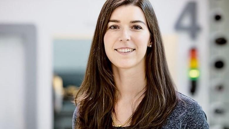 """""""Im Monat kommen bei uns 50 bis 100 Vorschläge zusammen."""" Stefanie Baur, Ideenmanagerin. Foto: Eppler"""
