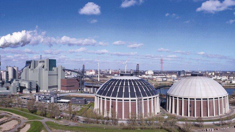 Neue Verwendung: Im früheren Hamburger Kraftwerk Moorburg soll künftig Wasserstoff produziert werden.