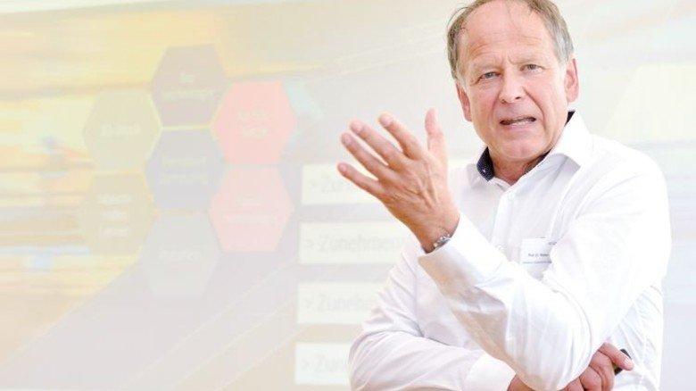 Eine flexible Organisation hilft, innovative Entwicklungen voranzutreiben und neue Geschäftsmodelle auszuloten, sagt  Professor Walter Jochmann, Geschäftsführer der Unternehmensberatung Kienbaum Consultants International. Foto: Scheffler
