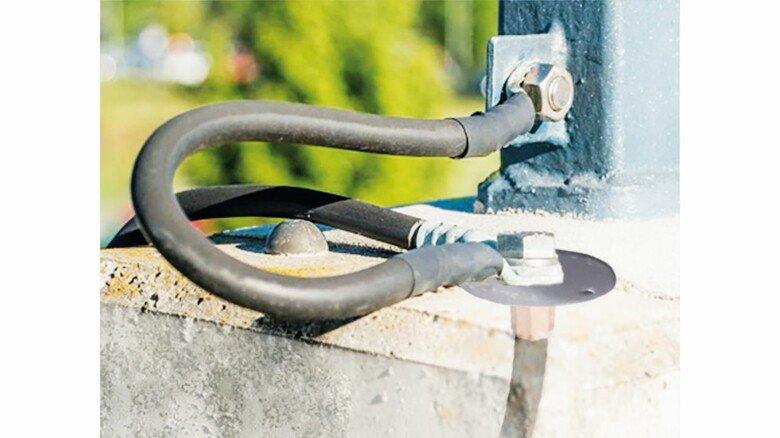Erdungsverbinder: Sie sorgen für Sicherheit am Gleis.