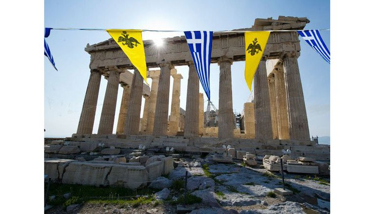 Marode: Die Akropolis hat schon bessere Tage gesehen. Genau wie Griechenlands Wirtschaft. Foto: Roth