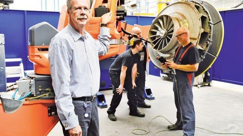 Erfolgreiche Spezialanfertigungen: Nils Englund hat die Firma Piller zusammen mit Partner Bernd Klostermann vor dem Aus bewahrt. Foto: da Silva