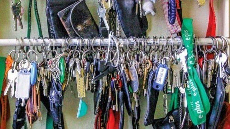 Jede Menge Schlüssel: Typisches Bild aus einem Fundbüro. Foto: dpa