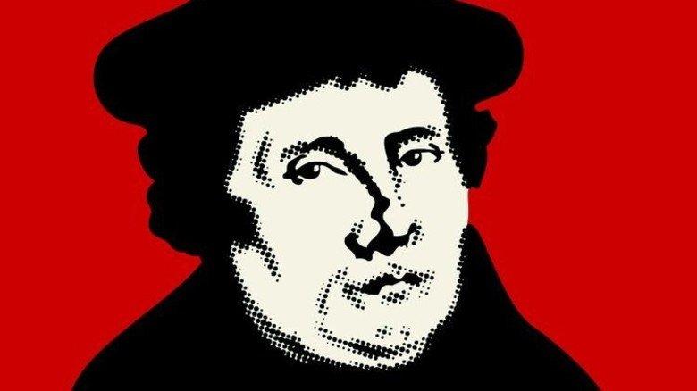 """Kritik an der Kirche: Mit 34 Jahren veröffentlichte Luther seine Thesen. Foto: Staatliche Geschäftsstelle """"Luther 2017 - 500 Jahre Reformation"""""""
