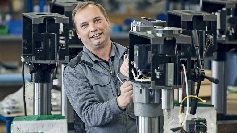 """""""Der Einsatz hat sich gelohnt"""": Viktor Steinborn war schon bei der Insolvenz dabei."""