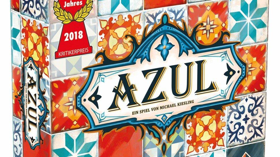"""Spiel des Jahres 2018: Das Brettspiel """"Azul"""" (zwei bis vier Spieler) hat echtes Suchtpotenzial. Es geht darum, in einem Palast Fliesen in bestimmten Mustern zu legen."""