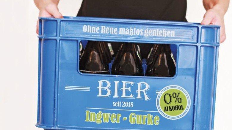 Ingwer-Gurke: Ein Geschmacksvorschlag der AKTIV-Redaktion. Foto: Adobe Stock; Montage: Langen