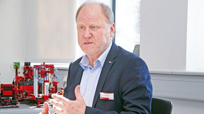 """""""Die Nachfrage ist stark gestiegen"""": Guido Schubert, Leiter des Vertriebsbereichs Industrie bei Fischertechnik."""