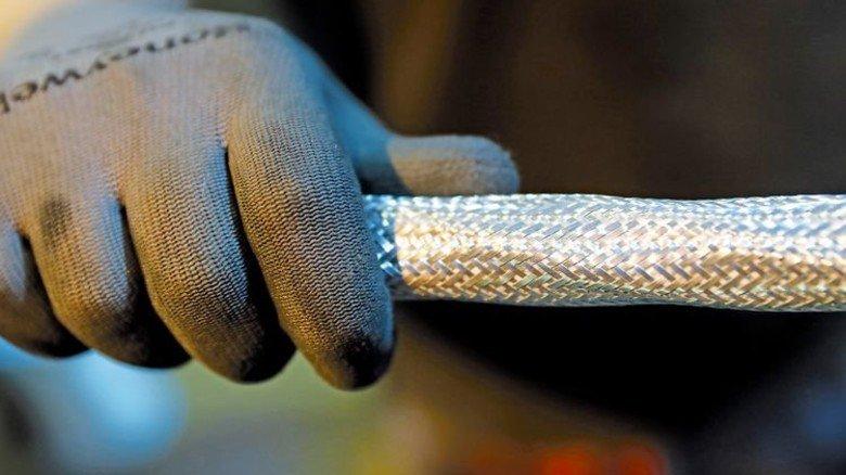 Gut isoliert: Die Metalldrähte werden dick ummantelt. Foto: Karmann