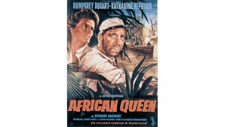 """Meyer-Schiff als Kinostar: Die in Papenburg gebaute """"Goetzen"""" lieferte Regisseur John Huston die Inspiration für den Bogart-Film """"African Queen"""". Foto: Werk"""
