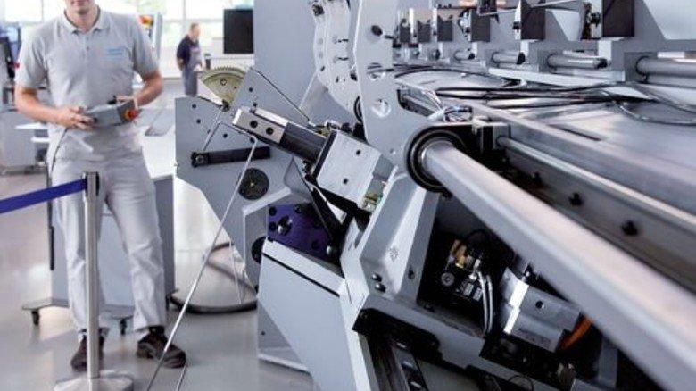 Beschleunigung: Durch die neue Software läuft die Produktion schneller als bisher. Foto: Eppler