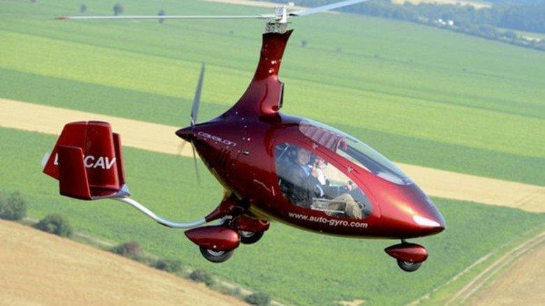 Bei Hobbypiloten beliebt: Sogenannte Tragschrauber der Firma Auto Gyro. Foto: dpa