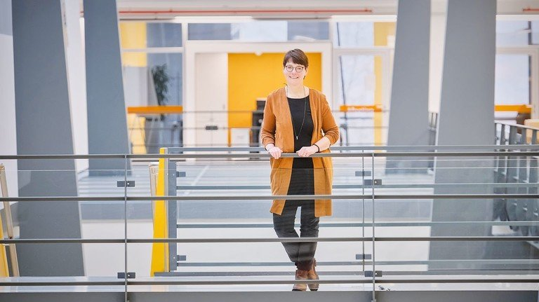 """Plädiert für ein neues Denken: Brigitte Wilhelm-Nienaber von der Ausbildung bei Sartorius. """"Wir müssen auf neue Ideen eingehen, mutig sein und Fehler zulassen."""""""