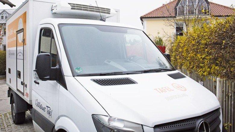 Kühlwagen: Auch in Weilheim ist die Tafel mit modernen Fahrzeugen ausgerüstet. Foto: Bodmer