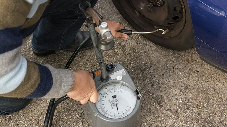 Spartrick: Regelmäßig den Luftdruck überprüfen.