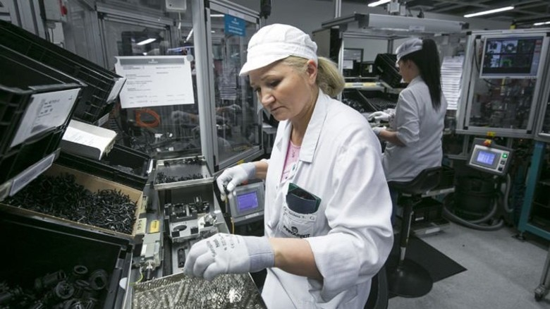 Made in Germany: Autoschlüssel werden bei Marquardt ausschließlich in den heimischen Werken hergestellt. Foto: Mierendorf