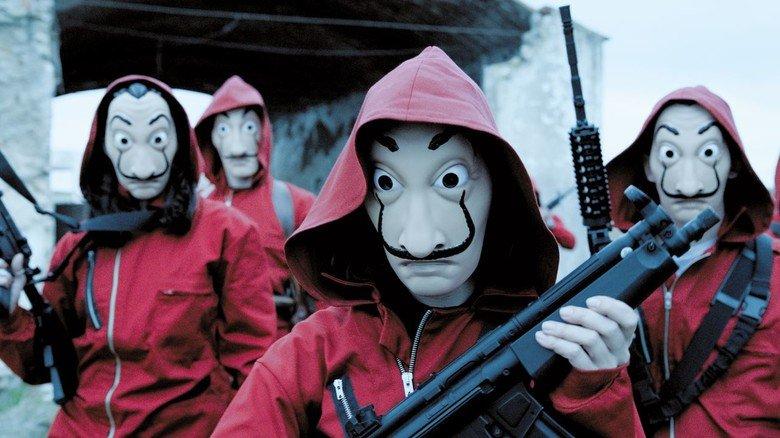 Haus des Geldes: Auch diese spanische Netflix-Serie verkaufte sich weltweit.