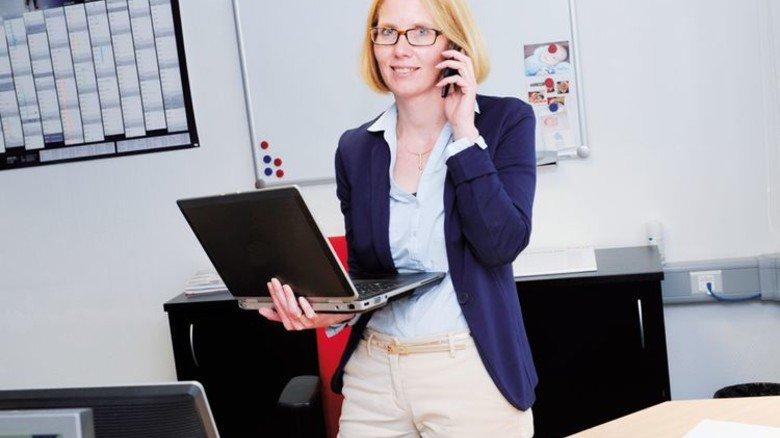 Profitiert von flexiblen Arbeitszeiten: … Foto: Wirtz